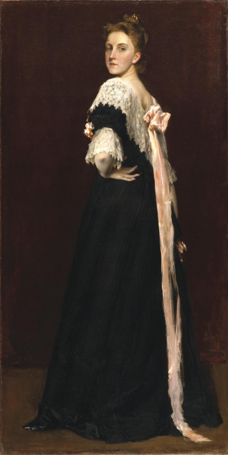 William Merritt Chase. Lydia Emmett