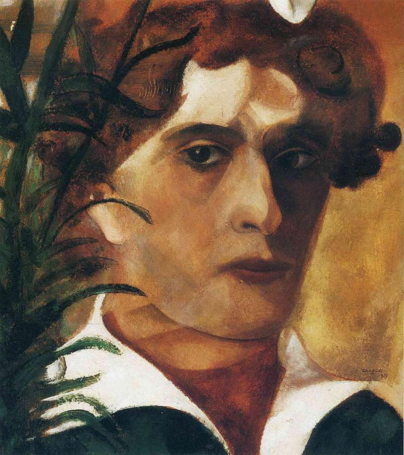 Картинки по запросу self portrait marc chagall