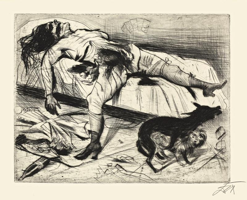 Otto Dix. Lust Murder