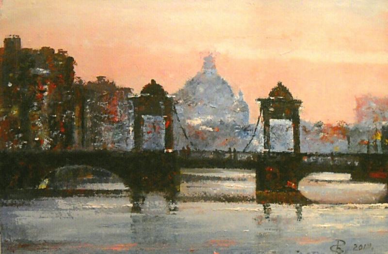 Sergey Viktorovich Rybakov. Lomonosov bridge.