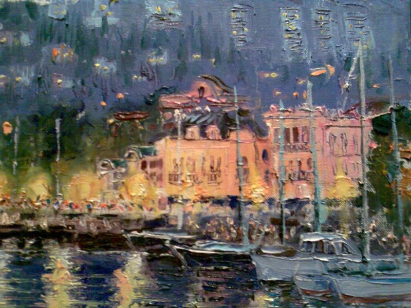 Алексей Гиба. Вечер в порту