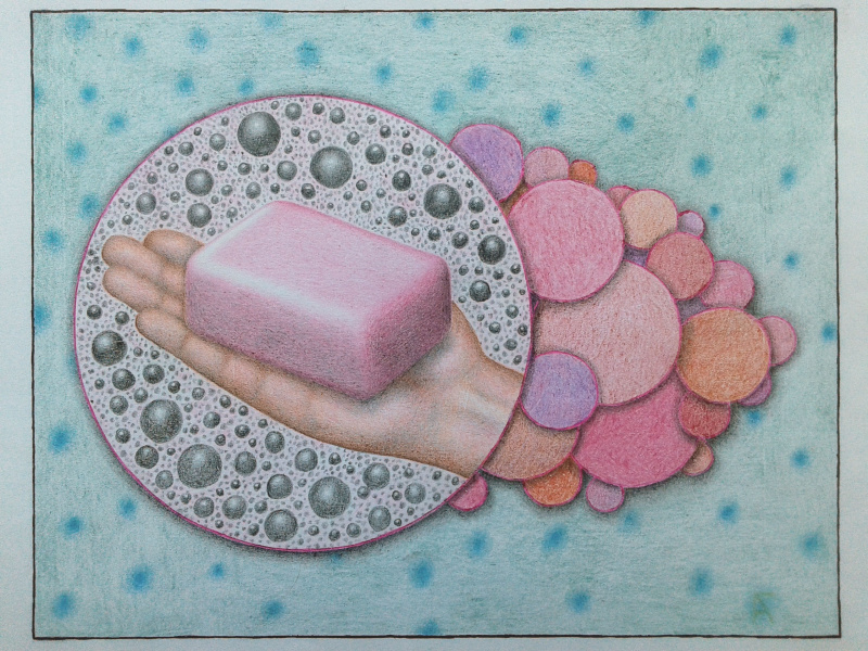 Artem Mushroom. Soap