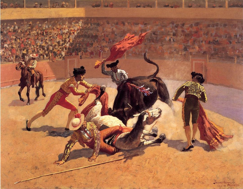 history of bullfighting