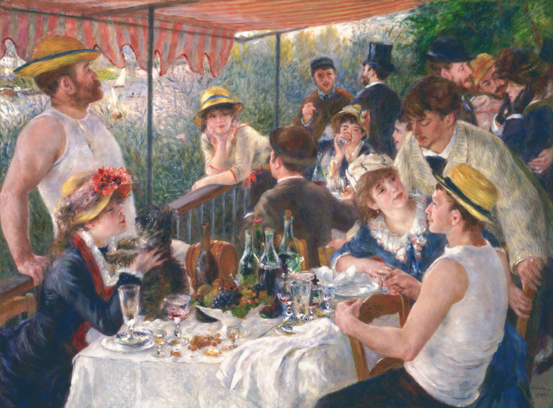 Pierre Auguste Renoir. Luncheon of the boating party