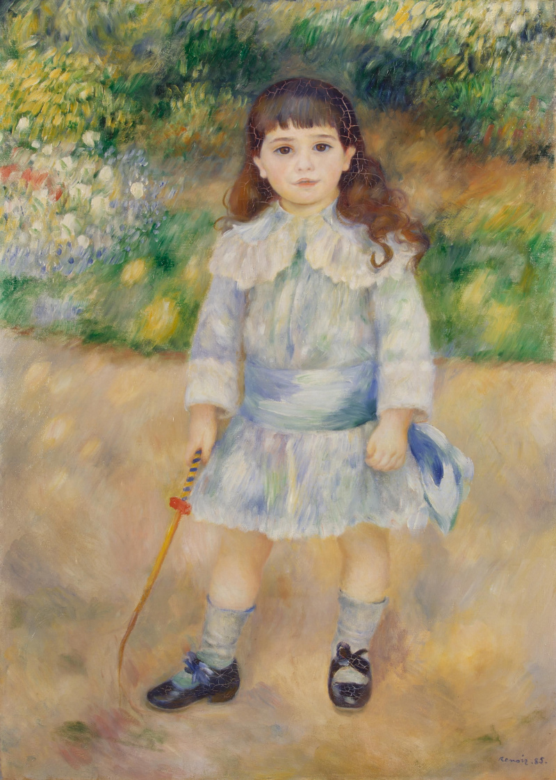 Pierre-Auguste Renoir. Child with a whip