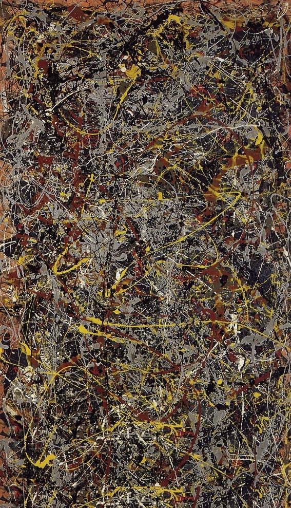 Jackson Pollock. Number 5