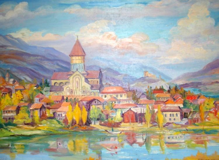 Нина Казимировна Чарнецкая. Собор ,,Светицховели'' в городе Мцхета