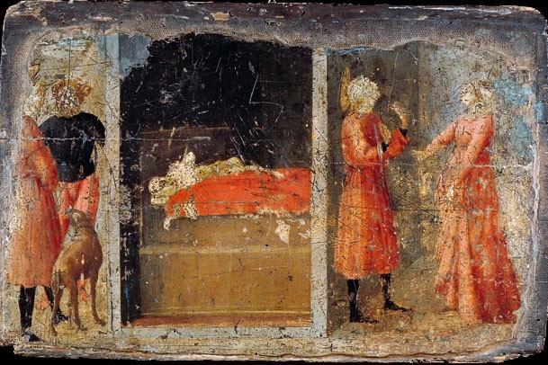 Tommaso Masaccio. The story of St. Julian
