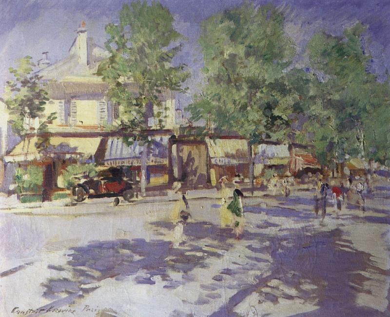 Константин Алексеевич Коровин. Париж утром