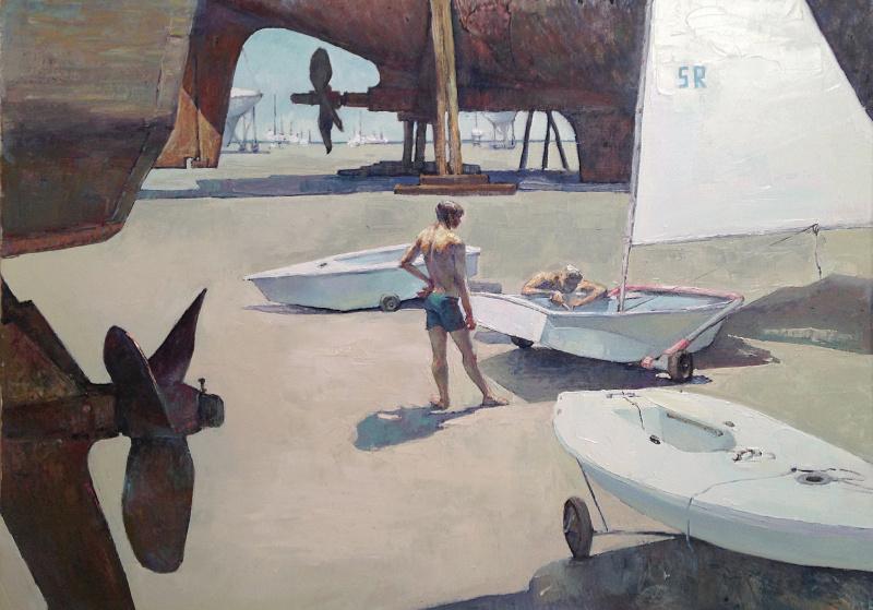 Кристина Ровная. Лето у моря