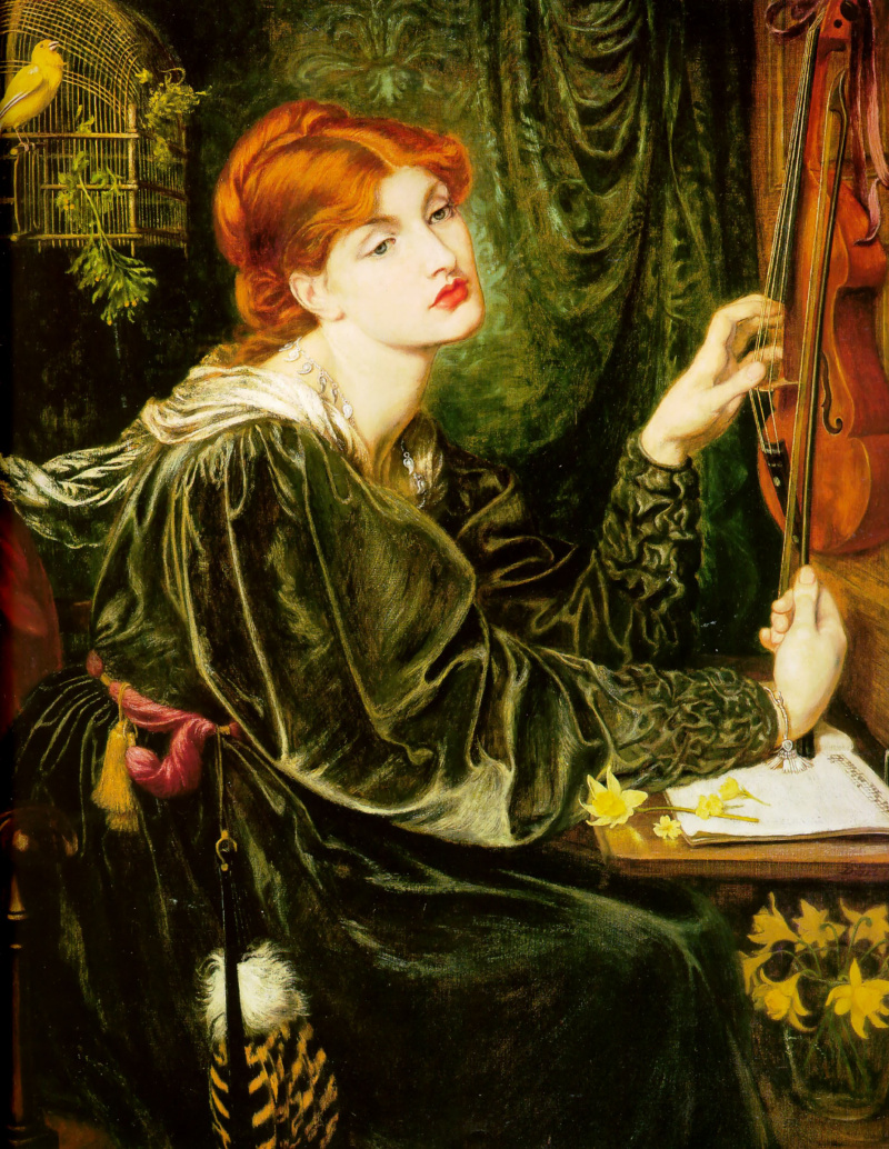 an introduction to comparing a painting by fra filippo lippi and dante gabriel rossetti