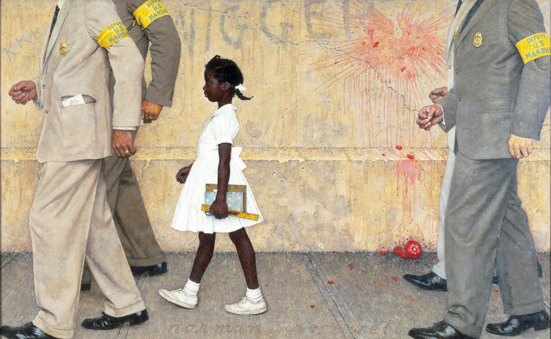 Norman Rockwell. The problem we all live