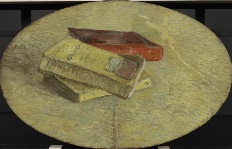 Vincent van Gogh. Still life with three books