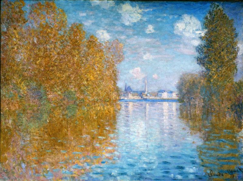 Claude Monet. Autumn in Argenteuil