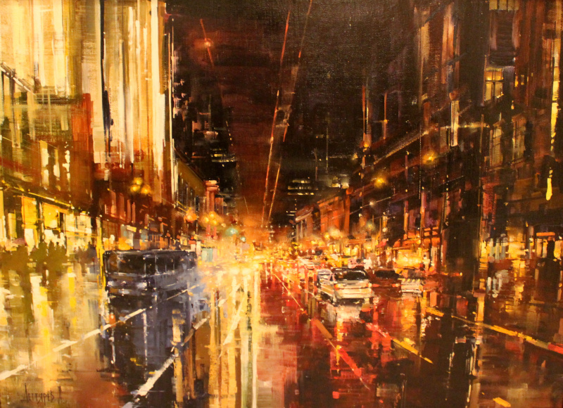 Degtyarev A.. Night avenue