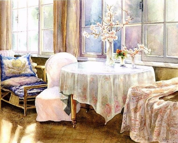 Ольга Александровна Романова. На веранде
