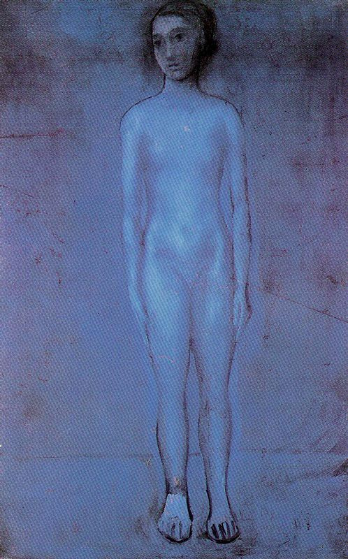 Pablo Picasso. Standing young Nude