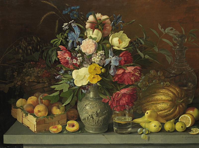 Ivan Fomich (Trofimovich) Khrutsky. Flowers and fruits