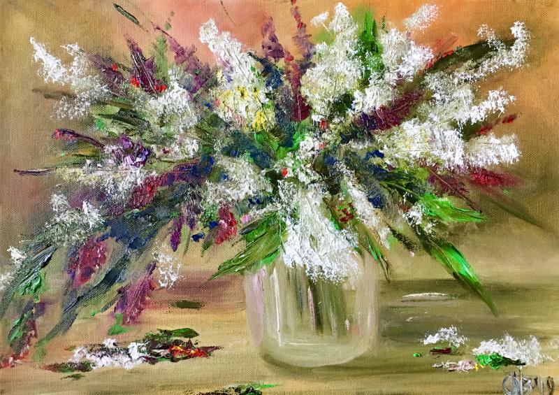 "Natalia Vadimovna Obdalenkova. ""Flowers"""