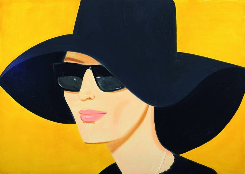 Alex Katz. Black hat