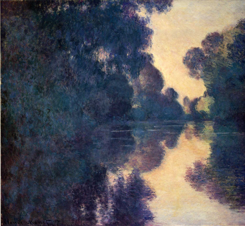 a paper on the life and works of claude monet