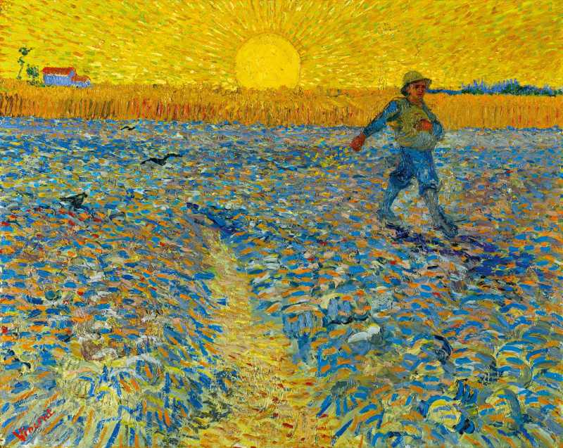 Винсент Ван Гог. Сеятель и закат