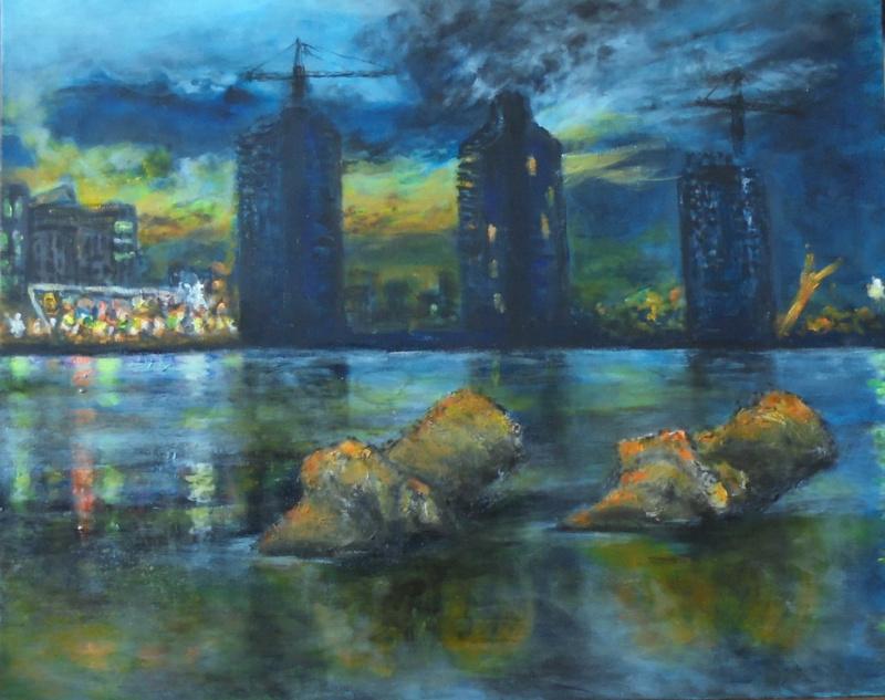 Alexander Vasilyevich Kozhevnikov. Urbanization river