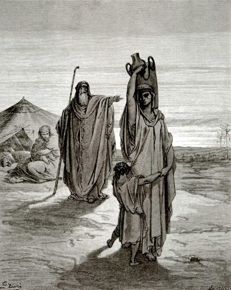 a comparison of the story of hagar shipley and the biblical hagar of genesis