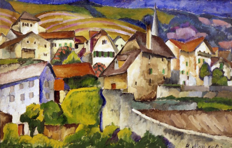 Ilya Ivanovich Mashkov. City in Switzerland