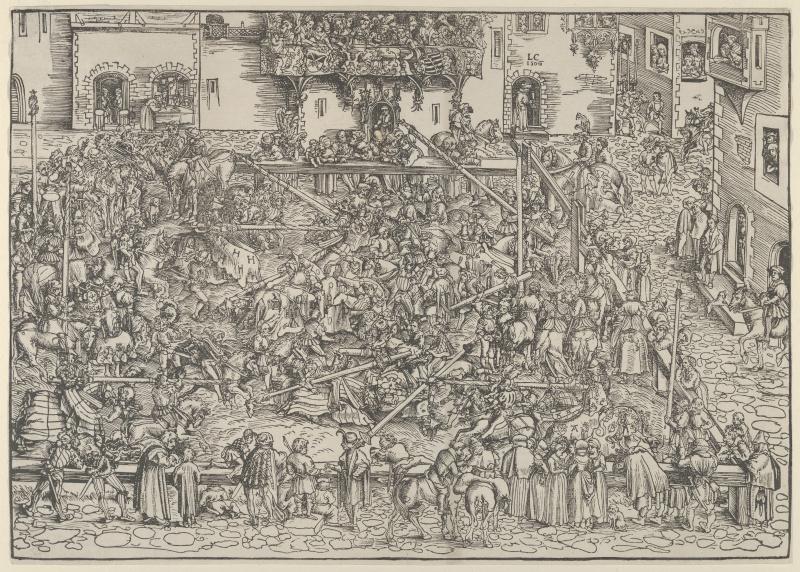Lucas Cranach the Elder. The first tournament