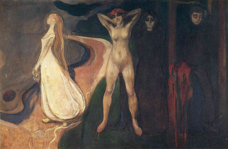 Edvard Munch. Woman in Three Stages