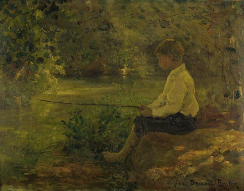 Вирджиния Демон-Бретон. Детская рыбалка