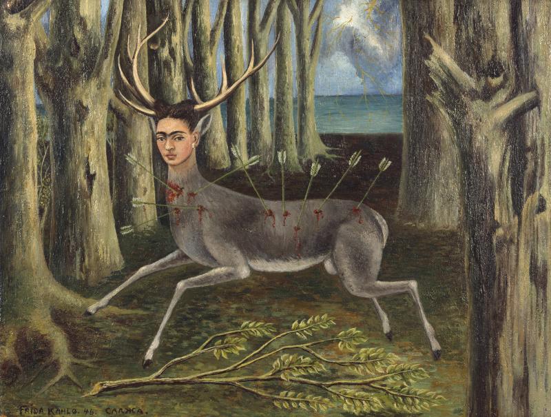 Фрида Кало. Раненый олень