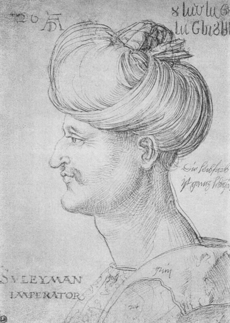 Как рисовал дюрер