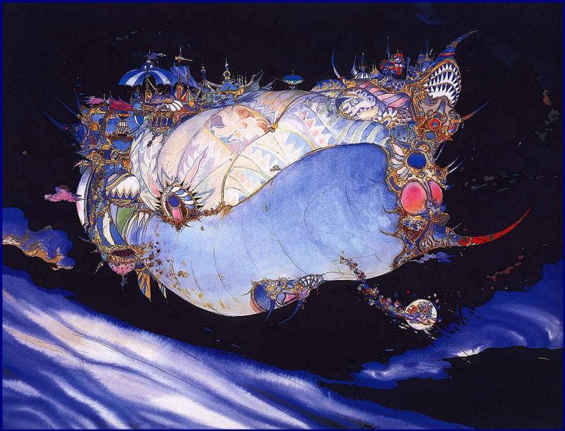 Еситака Амано. Лунный ковчег