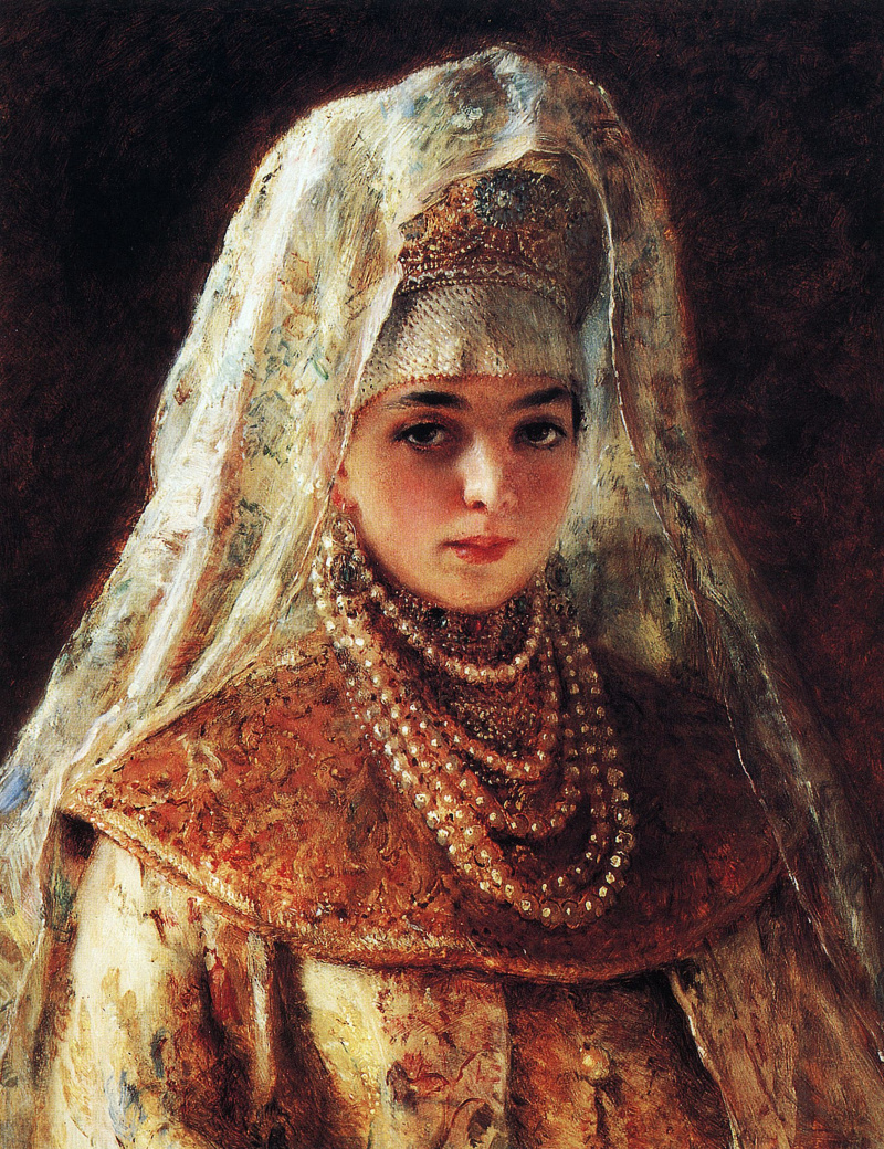Любимый, русские боярышни картинки