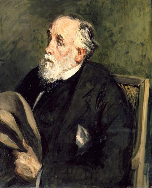 Jacques Emil Blanche. Portrait Of Edgar Degas