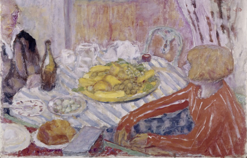 "analytical reading ""the luncheon"" by Paul cézanne - one of the most influential artists in the history, all paintings 1860-1906 in high quality - art-cezannecom."