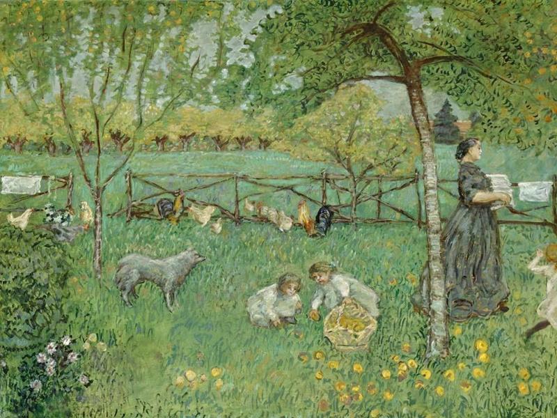 Пьер Боннар. Большой сад