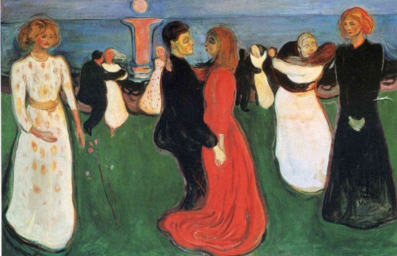 Edvard Munch. The dance of life