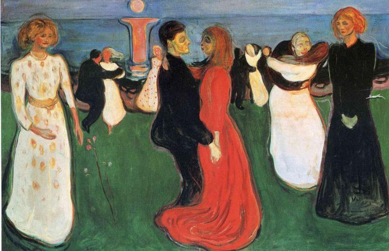 Edvard Munch. The dance of life