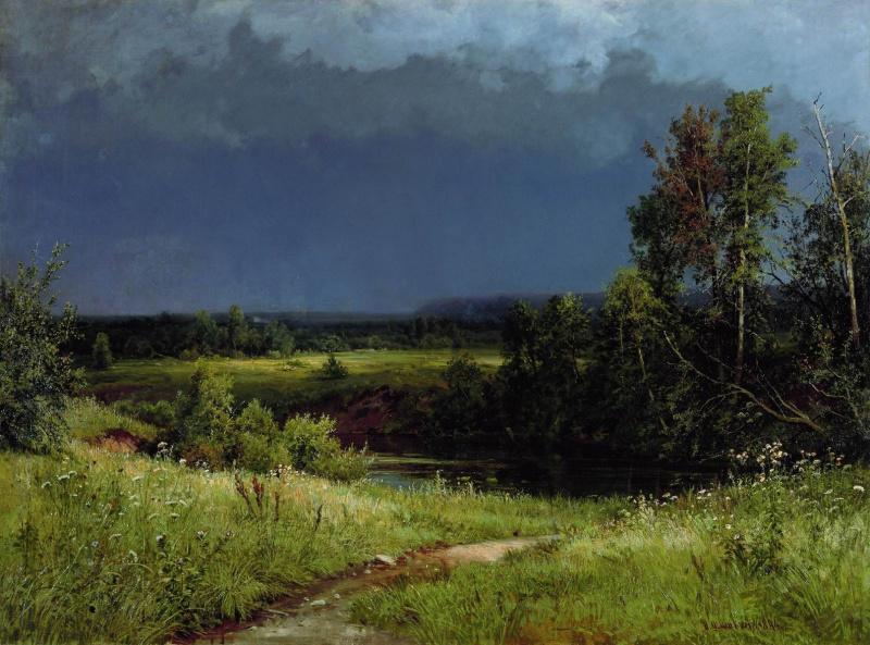 Иван Иванович Шишкин. Перед грозой