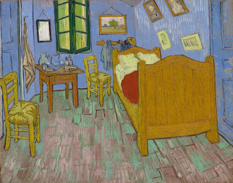 Vincent van Gogh. Bedroom in Arles (second version)