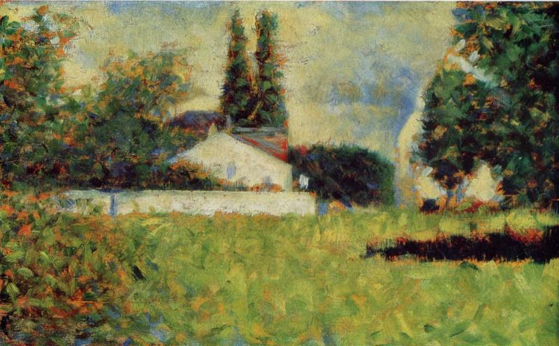Georges Seurat. Garden