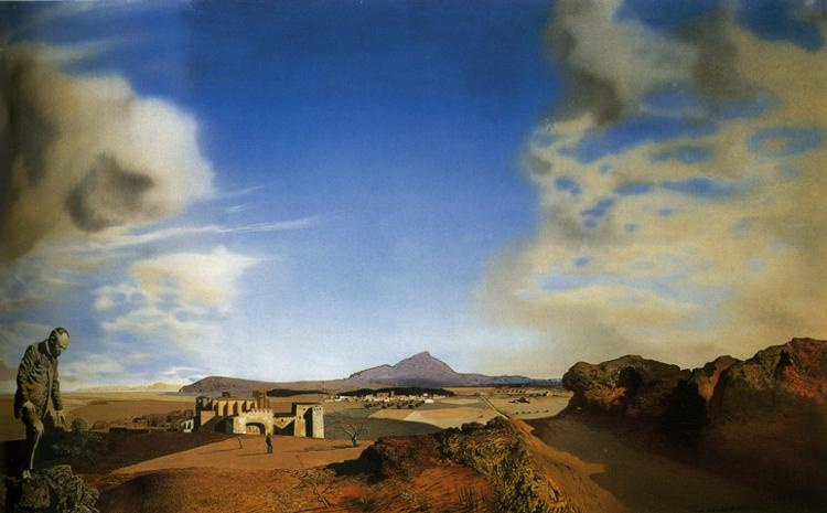 Salvador Dali. The chemist of Ampurdan in search of absolute nothing