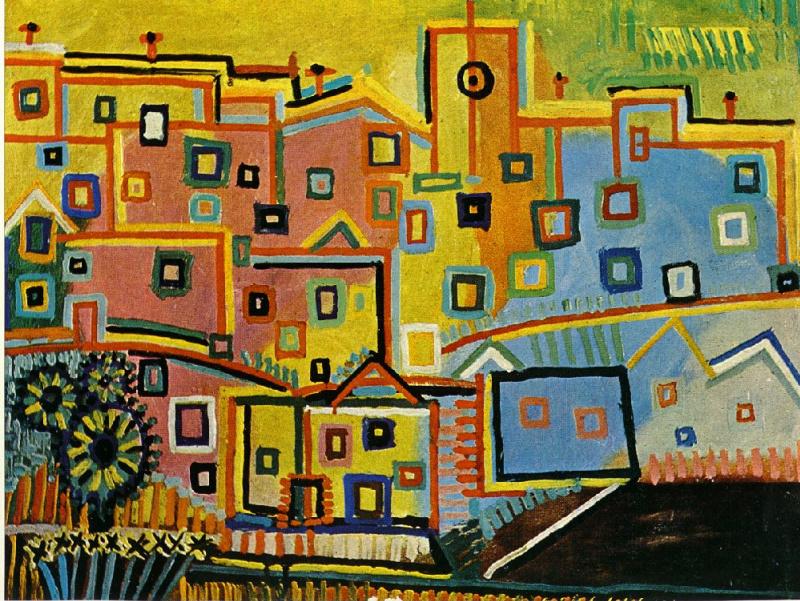 Пабло Пикассо. Дома
