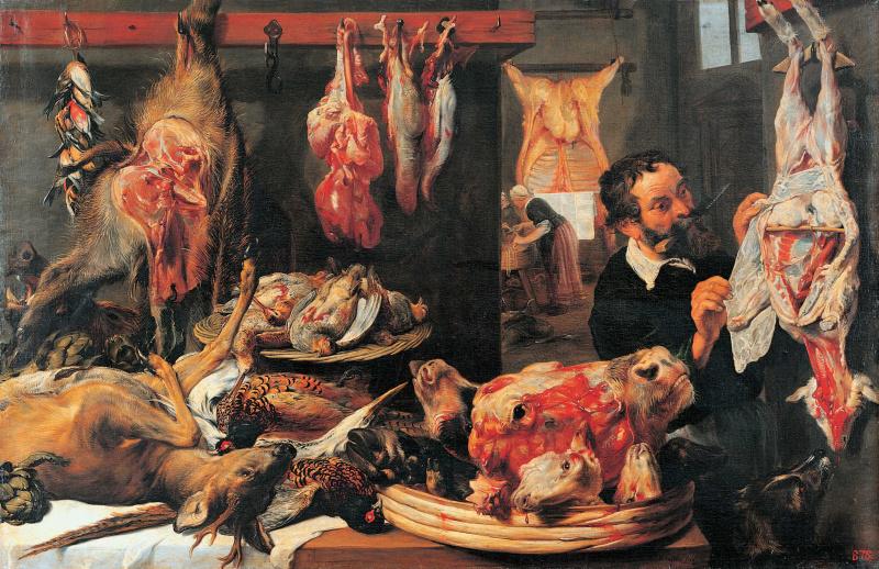 France Snyders. Butcher