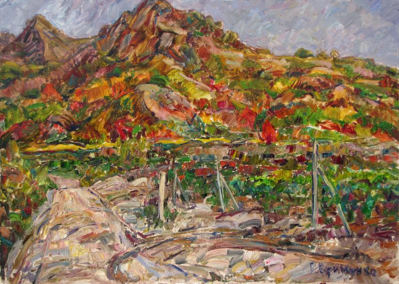 """Grigory Victorovich Efimenko. """"Autumn harvest"""""""