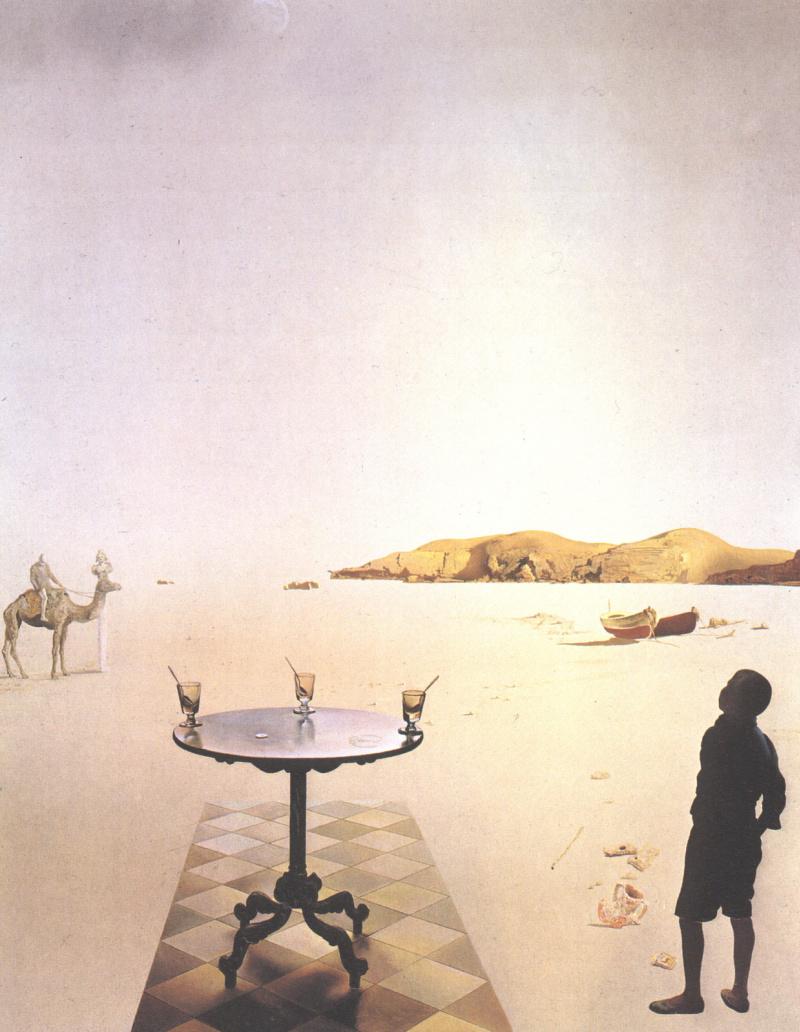 Сальвадор Дали. Солнечный столик