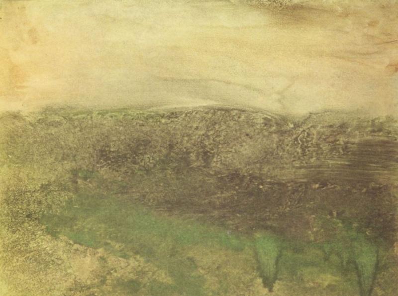 Эдгар Дега. Сумерки в Пиренеях